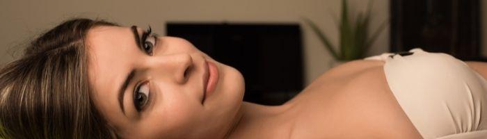 Masaje facial con electrodos